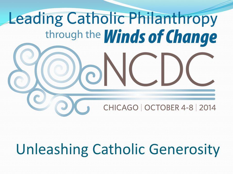 Unleashing Catholic Generosity