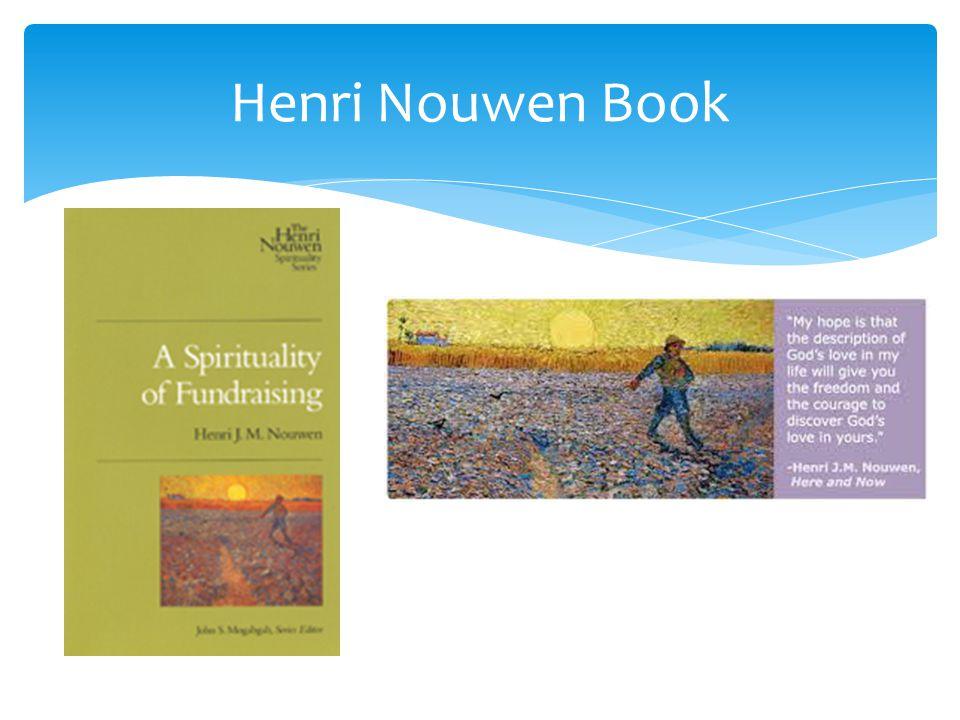 Henri Nouwen Book