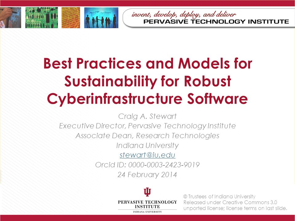 Starting points for Software Sustainability EAGER-funded project ACCI Campus Bridging Task Force report: – Finding 4: The existing, aggregate national cyberinfrastructure is not adequate to meet current or future needs of the US open science and engineering research community.