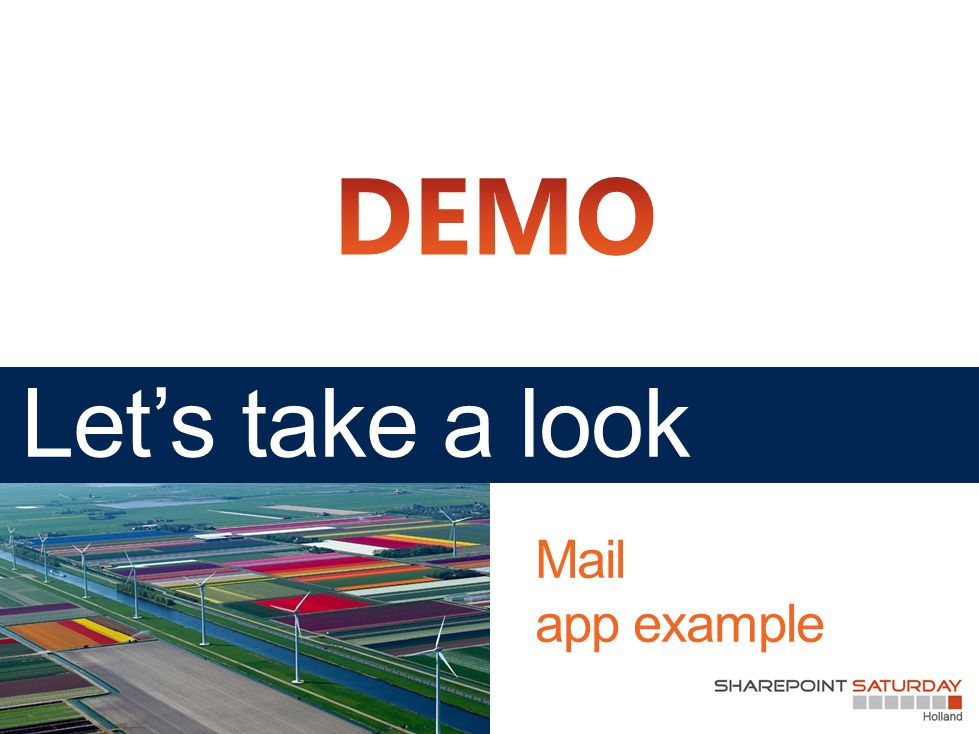 Mail app example
