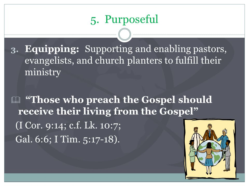5. Purposeful 3.