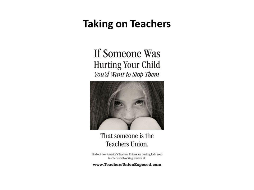Taking on Teachers