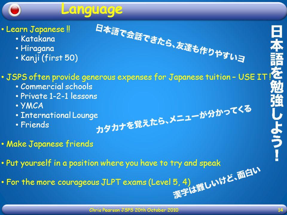 Learn Japanese !.