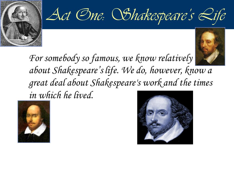 Act Four, Scene Three: Memory Challenge  Can your remember who has spoken the following lines from the play.