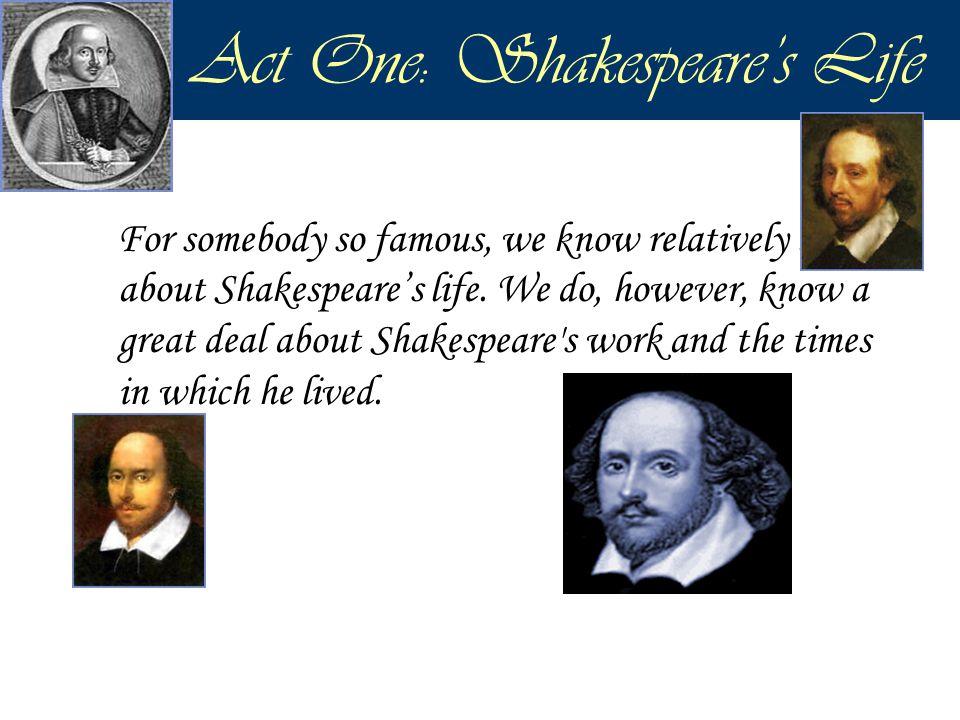 Purposes of Act I, Scene I 1.