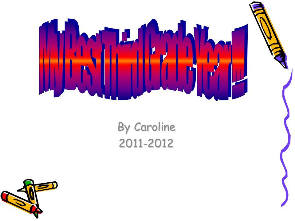 By Caroline 2011-2012