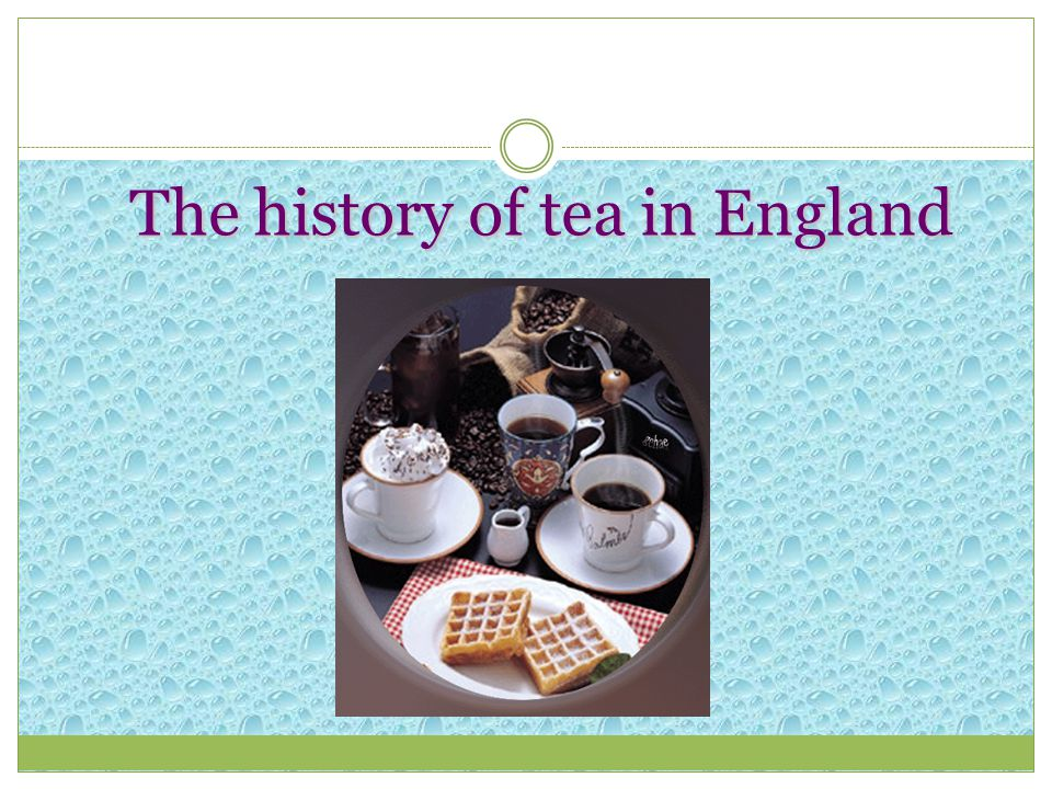 The history of tea in Russia