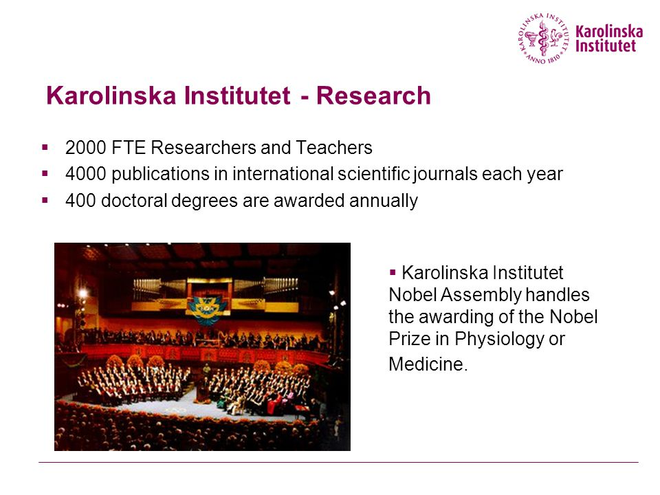 Karolinska Institutet University Library - KIB is situated on two campuses in Stockholm