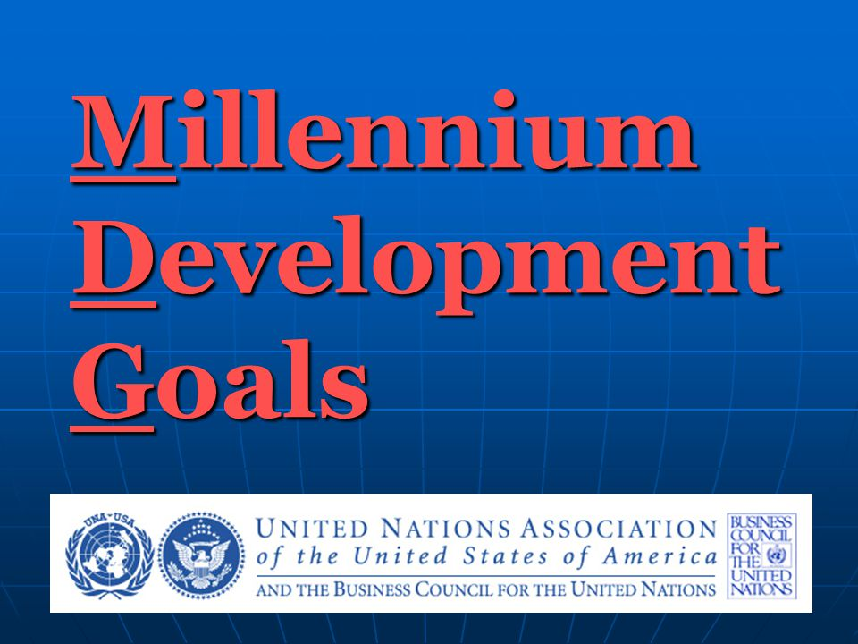 Goal #8 Develop a global partnership for development Target: Develop further an open trading and financial system that is rule-based, predictable and non-discriminatory.
