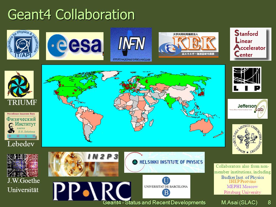 Geant4 - Status and Recent Developments M.Asai (SLAC)39 Electron scattering (L.Urban, CERN-OPEN-2006-077, g4 8.2)