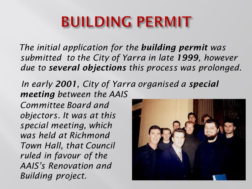 The Final Stage of the Renovation & Building Project was initiated in 2012.