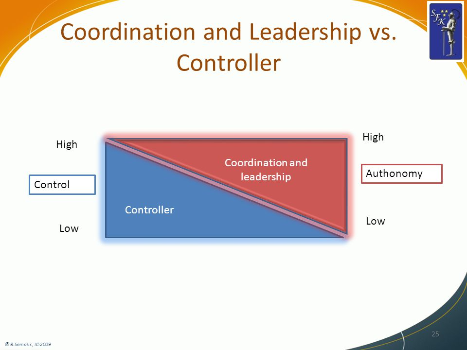 Coordination and Leadership vs.