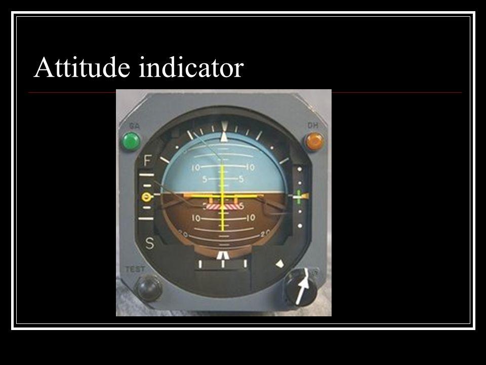 Attitude indicator