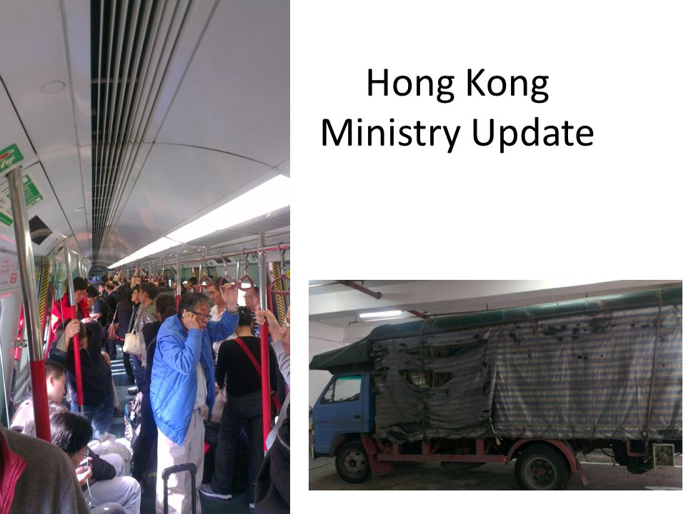 Hong Kong Ministry Update