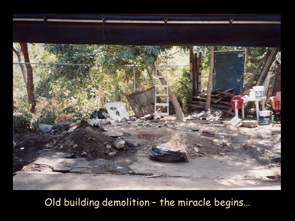 Old building demolition – the miracle begins…