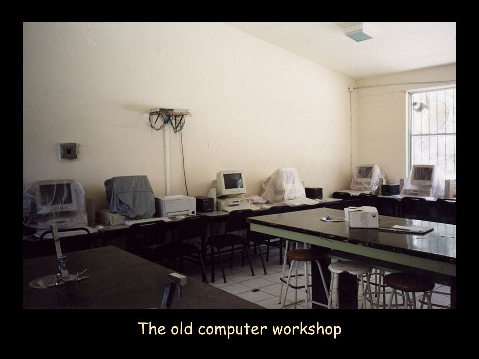 The old computer workshop