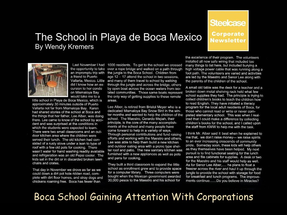 Boca School Gaining Attention With Corporations