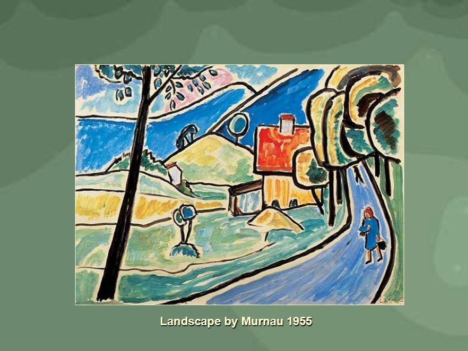 Landscape by Murnau 1955