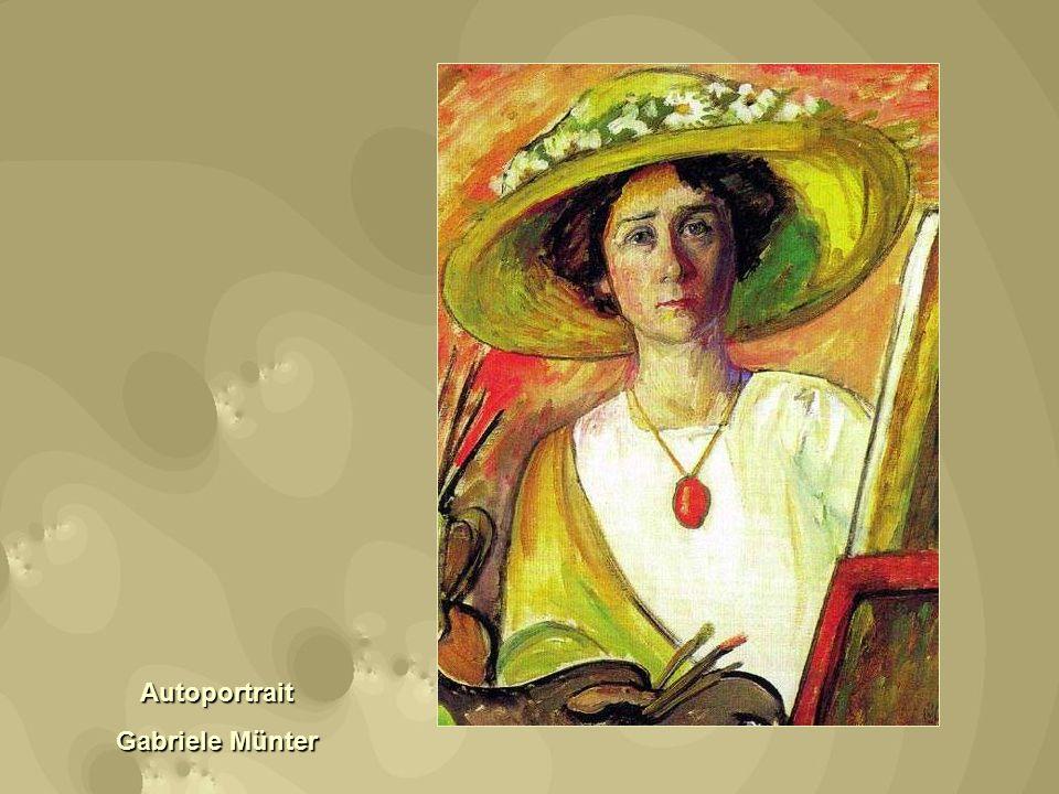 Autoportrait Gabriele Münter