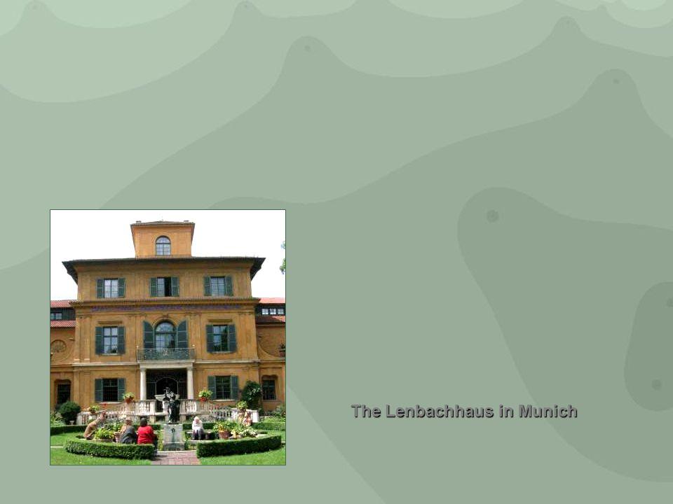 The Lenbachhaus in Munich