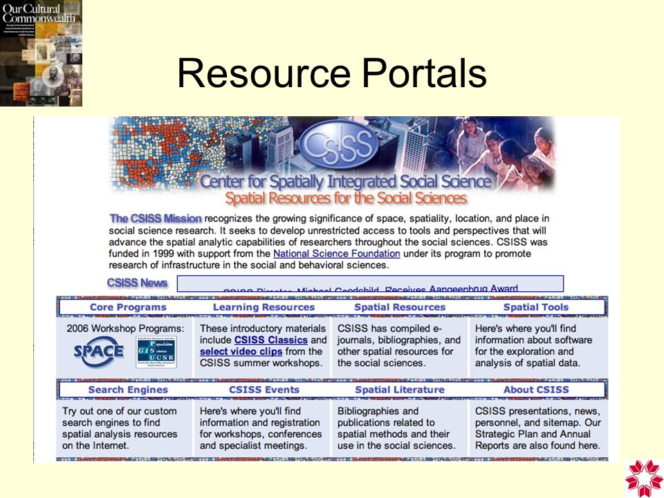 Resource Portals