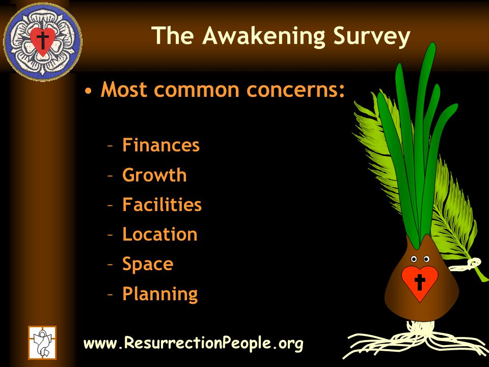 www.ResurrectionPeople.org Resurrection Lutheran -– Where are we Going.