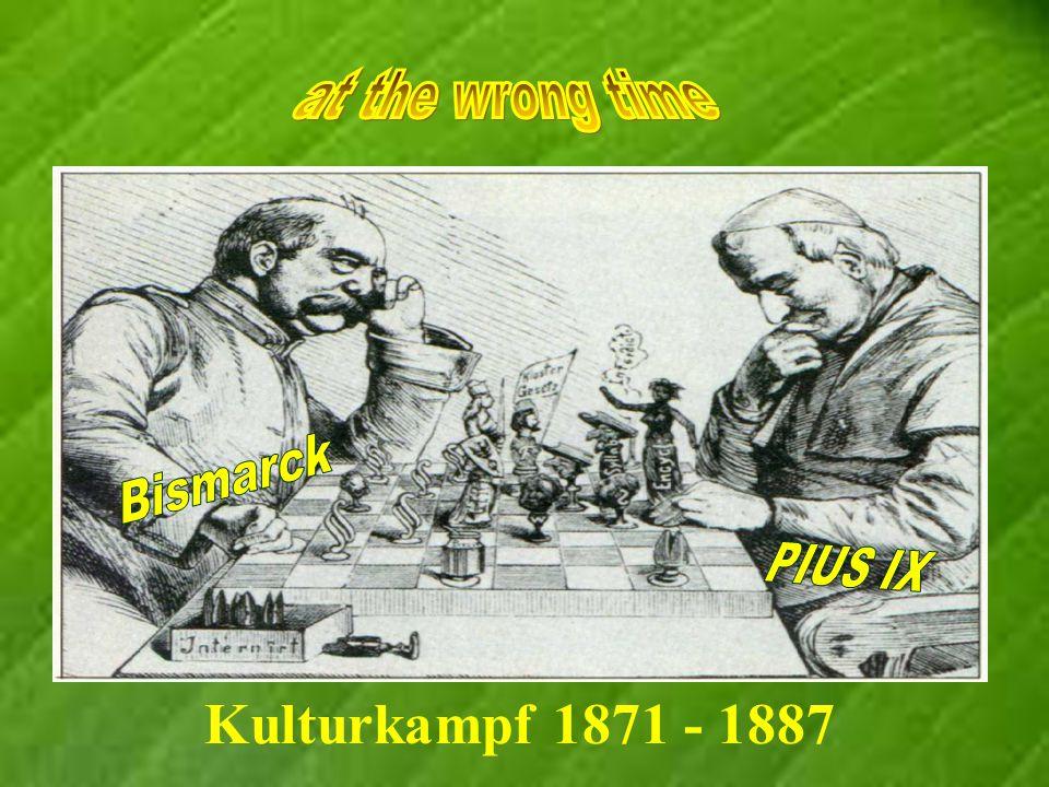 Kulturkampf 1871 - 1887
