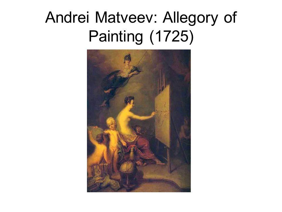 Andrei Matveev: Allegory of Painting (1725)