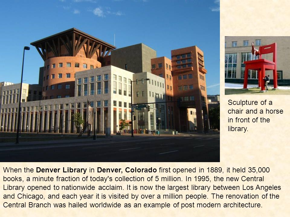 Seattle, Washington has a thing for cool libraries.