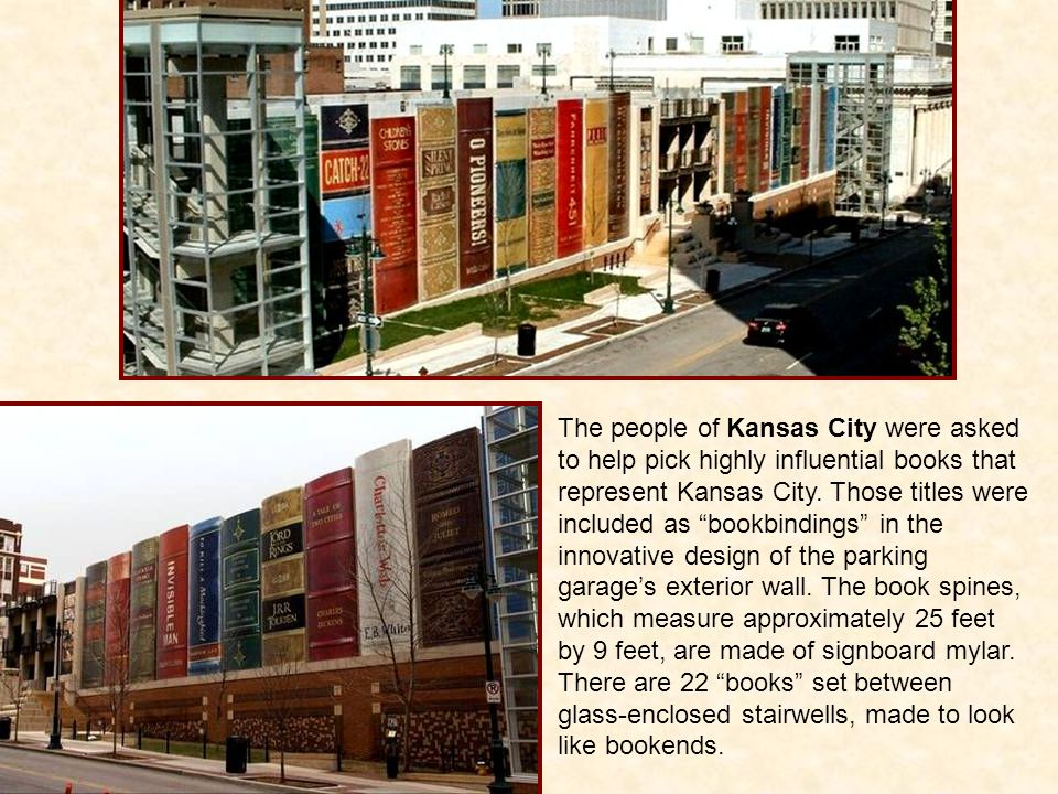 The people of Kansas City were asked to help pick highly influential books that represent Kansas City.