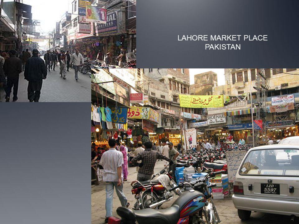 LAHORE MARKET PLACE PAKISTAN