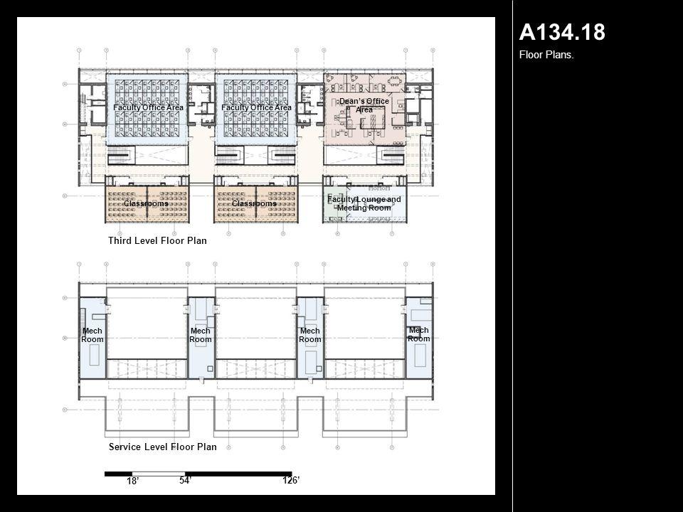 A134.18 Floor Plans.