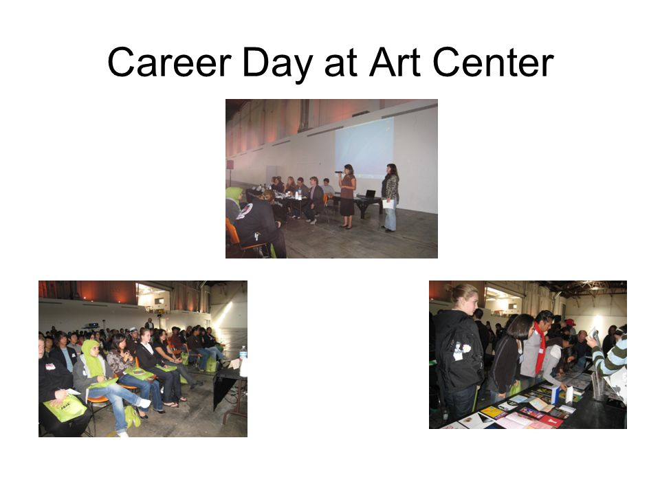 Career Day at Art Center