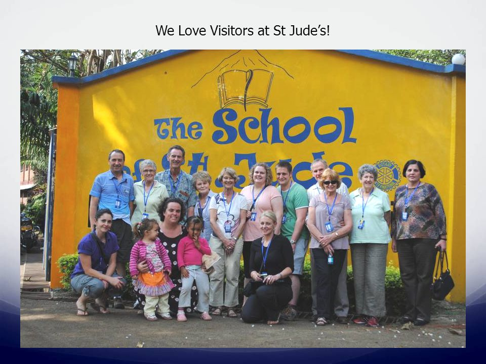 We Love Visitors at St Jude's!