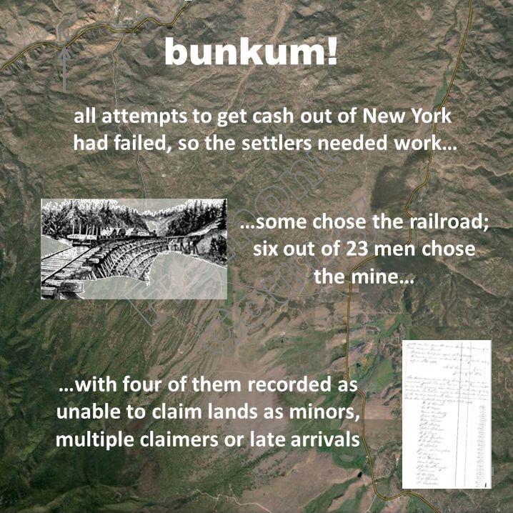 One mile bunkum.