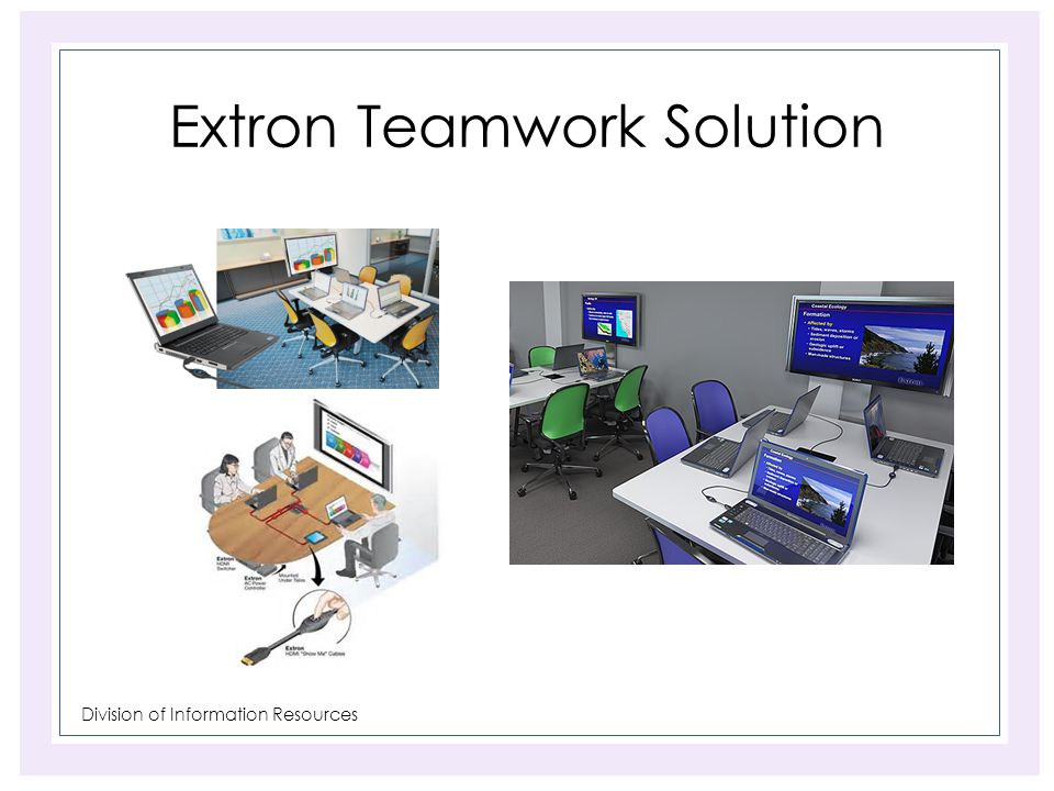 Division of Information Resources Extron Teamwork Solution
