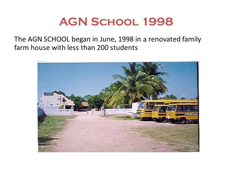 AGN SCHOOL TODAY.