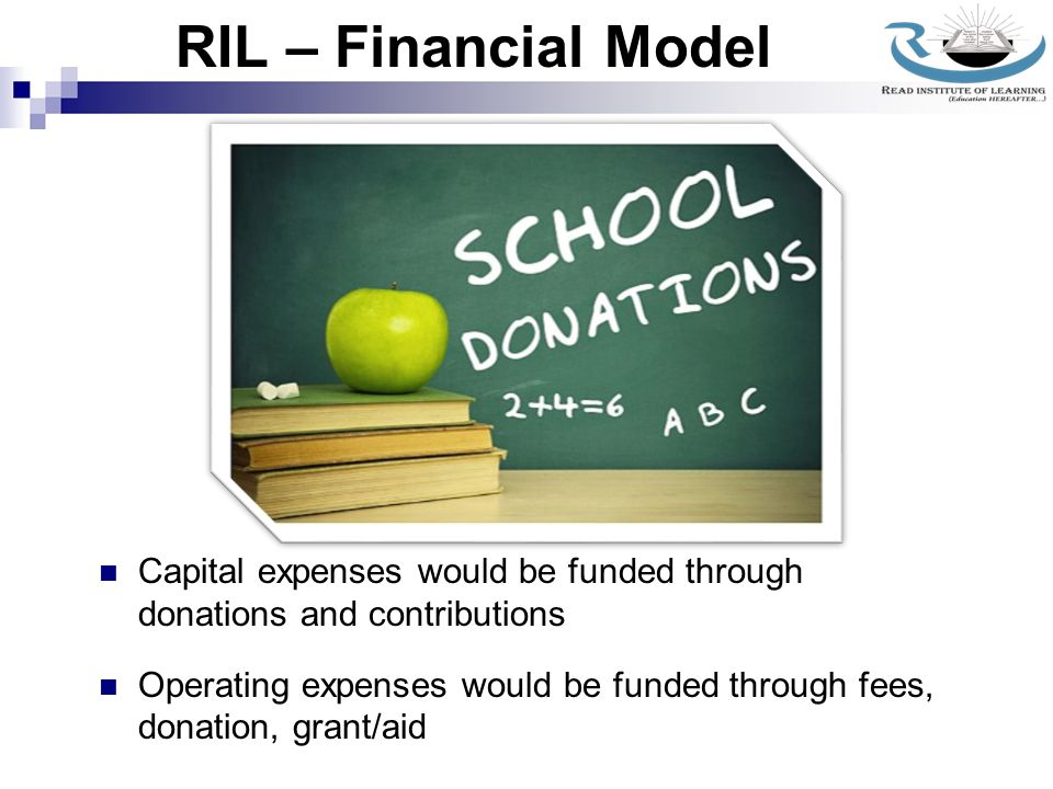 RIL – Location RIL operate 'Read Model School' in Bidar city of Karnataka State in India.