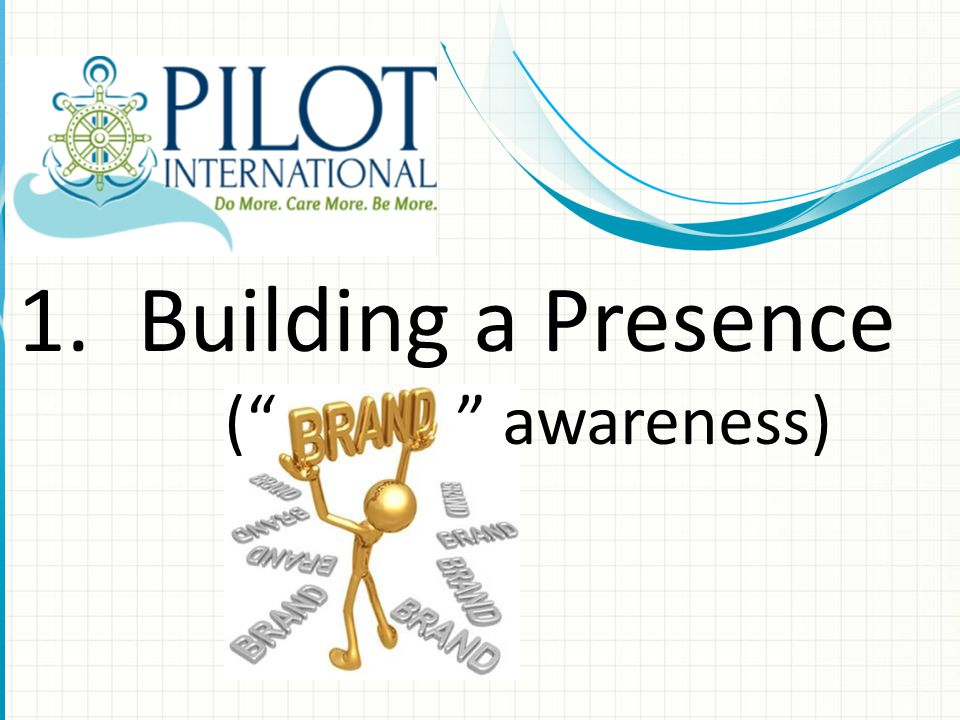 1.Building a Presence ( awareness)