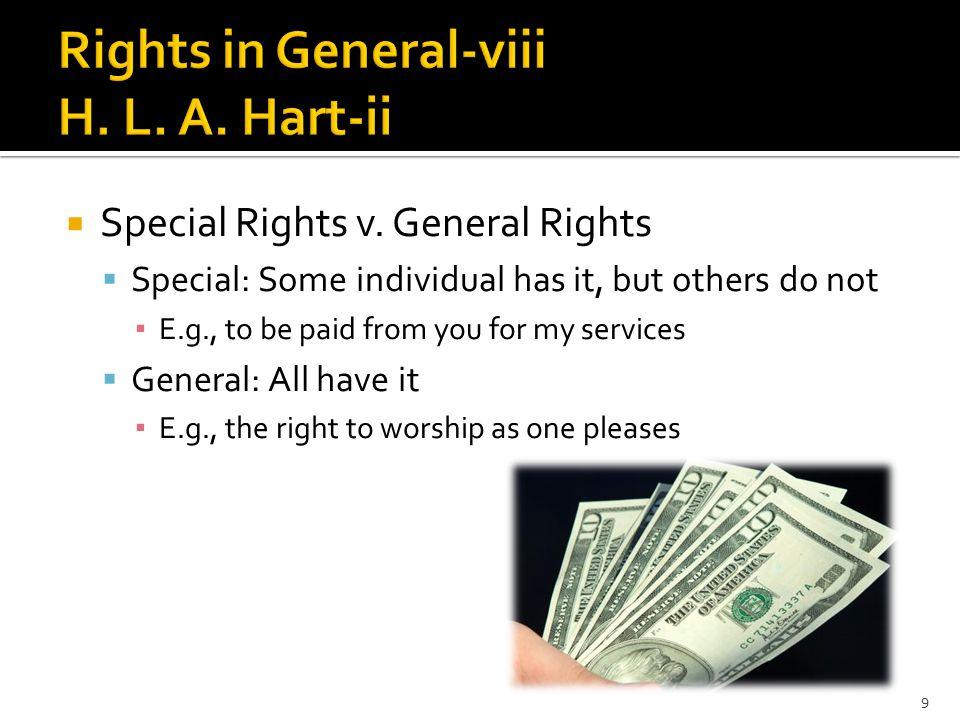  Special Rights v.