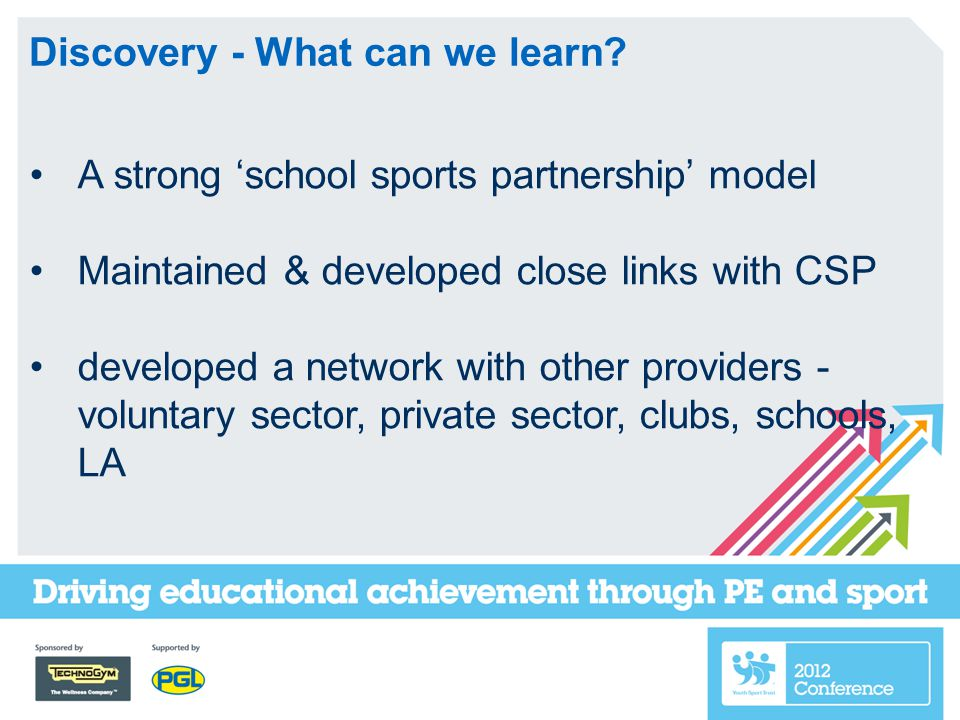 Discovery - What can we learn.