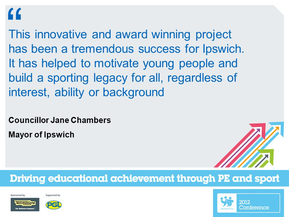This innovative and award winning project has been a tremendous success for Ipswich.