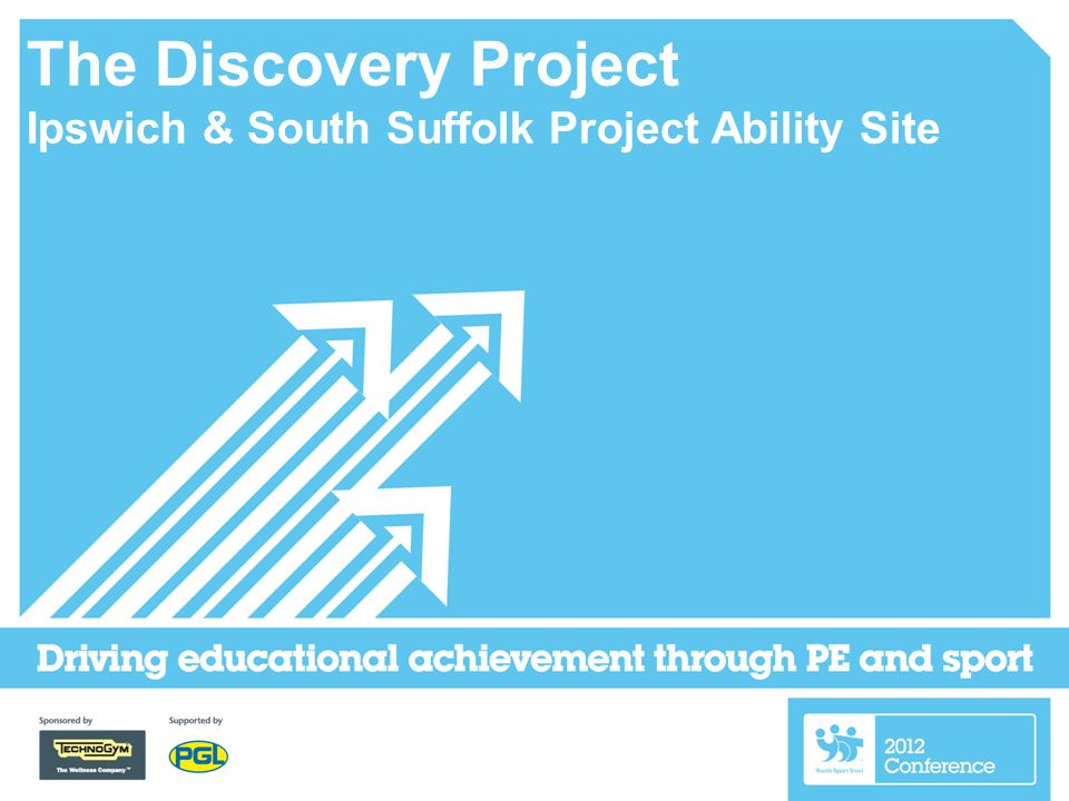 The Discovery Project Ipswich & South Suffolk Project Ability Site