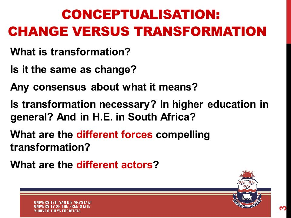 ACCESS AS FORCE OF CHANGE/TRANSFORMATION 14 Diverse definition of access (e.g.