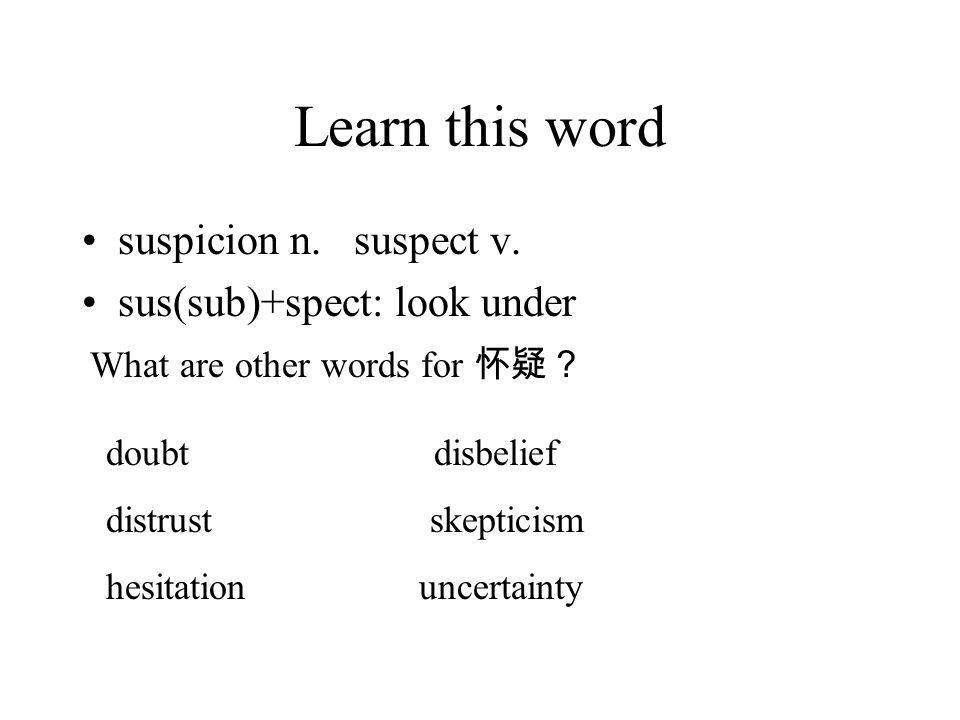 ascribe as- (to, towards) –scribe (write) describe: de- (down) subscribe: sub- (under, next to)