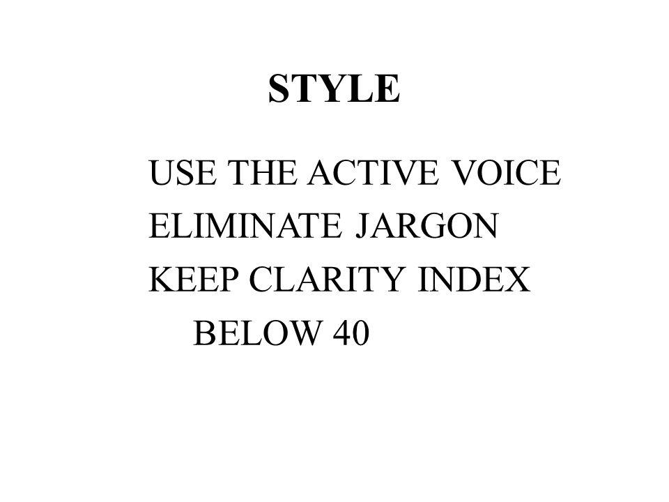RULES OF THUMB 1.