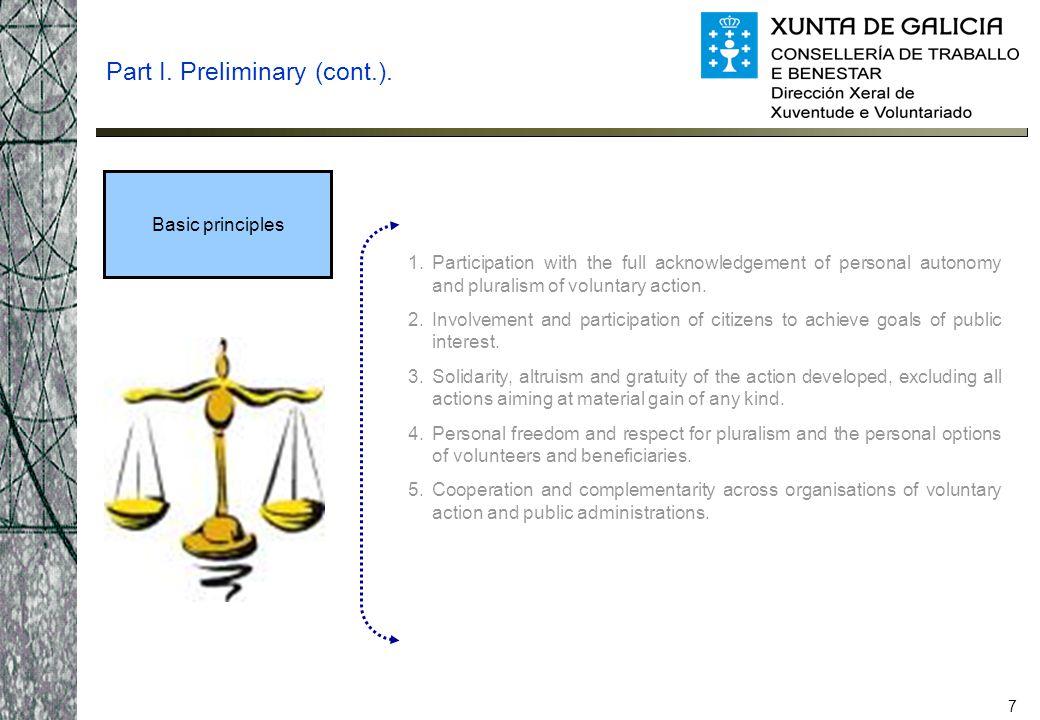 8 Part I.Preliminary (cont.).