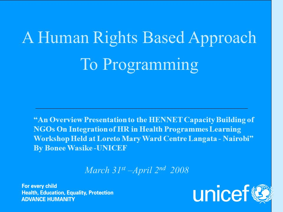 Lessons learnt from HRAP/CCD Focused and implementable Community Action Plans Improvement in Ownership of the Programme/Project activities Sustainable Process both at the District and Community levels Increased participation from both District and Community levels in programme planning and implementation Increased community resources for realization of children rights in the learning communities of Nairobi, Garissa, Isiolo, Turkana and Kwale districts.