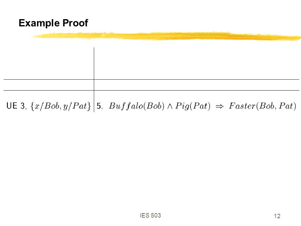 IES 503 12 Example Proof