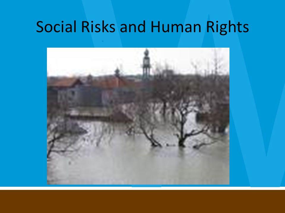Social Risks and Human Rights
